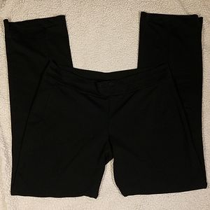 Adidas Black Workout Pants Climalite Sz L